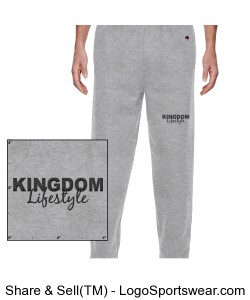 Champion Heavyweight Cotton Max Sweatpant Design Zoom